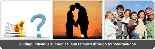Jim Warner guides individuals, couples, and families through transitions.