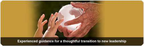OnCourse helps create a thoughtful transition to new leadership.