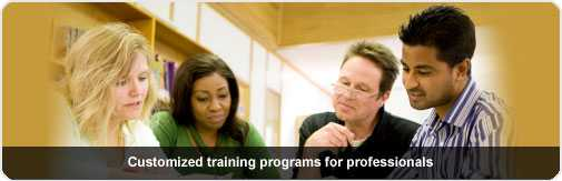 OnCourse offers customized training programs for professionals.